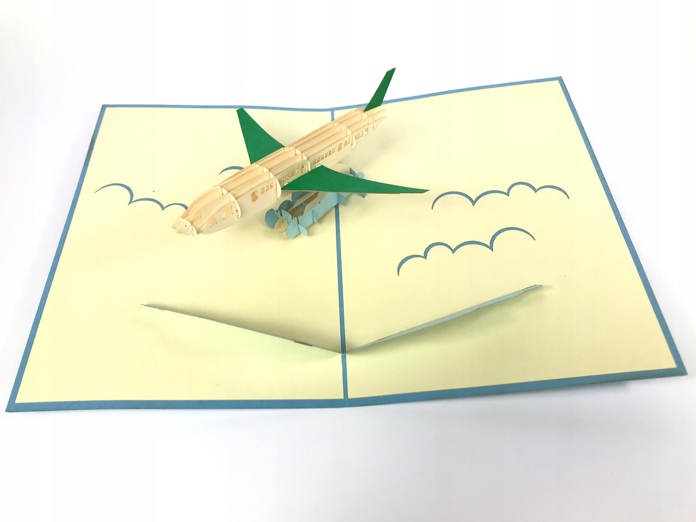 Открытка самолет