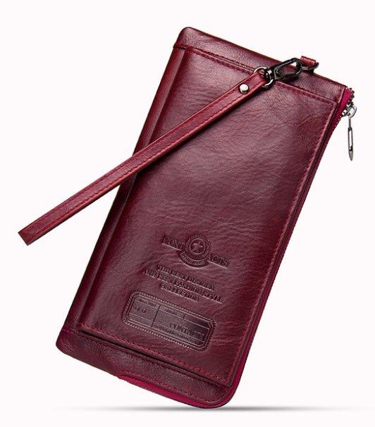 8fd9d9a4ed622 Praktyczny duży męski portfel skóra kolory MODITO