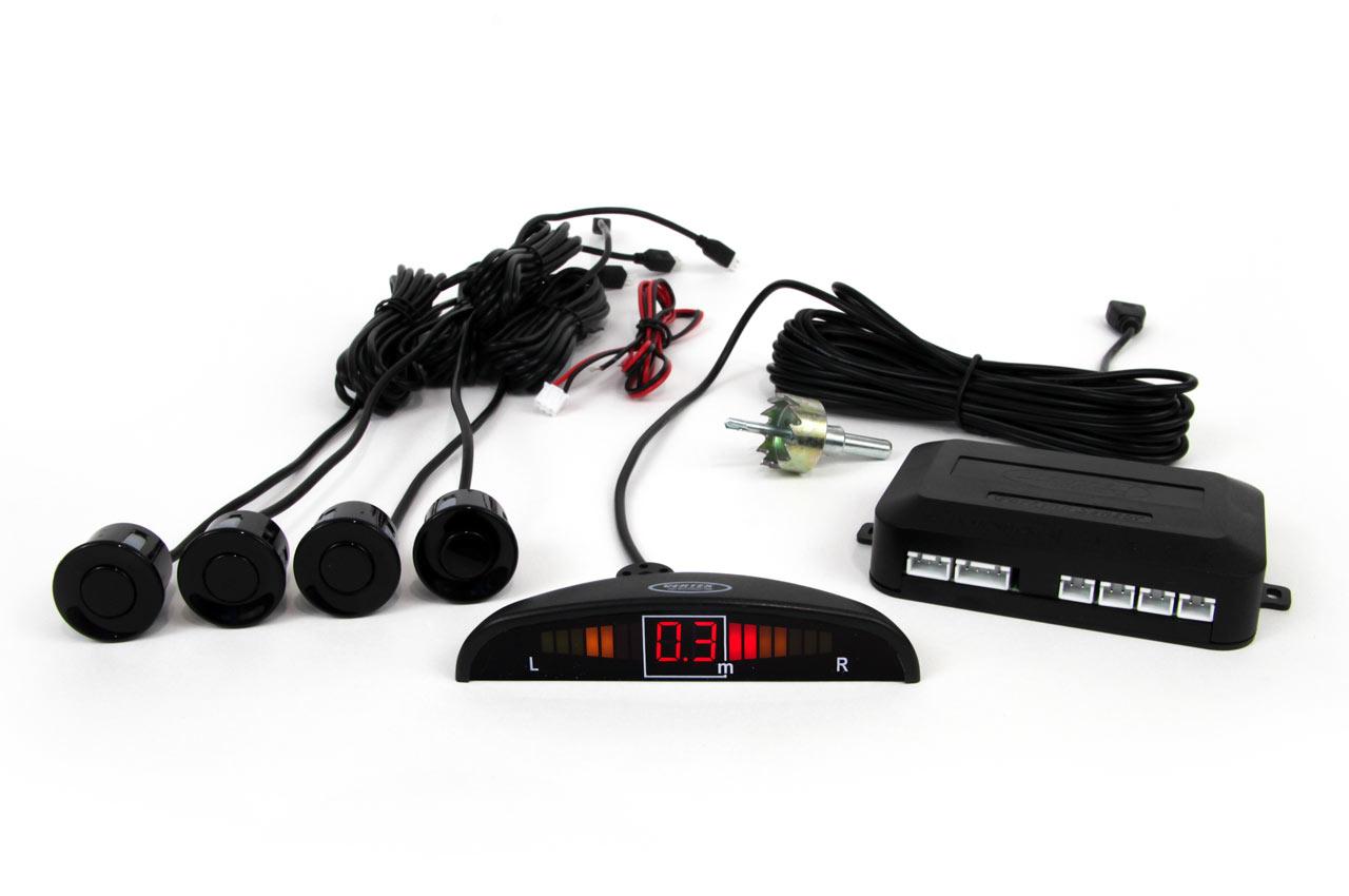 Zestaw czujników LED 4 sensory czarne vertex