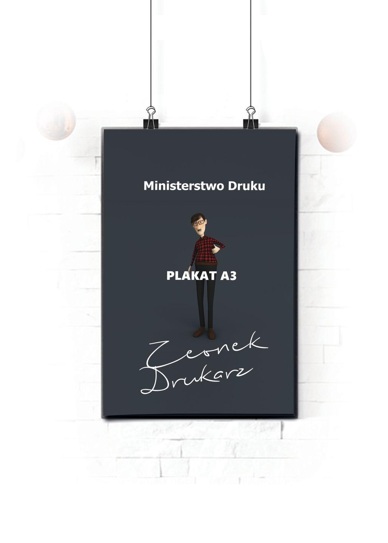 Plakaty A3 Druk Expres 24h 10 Sztuk