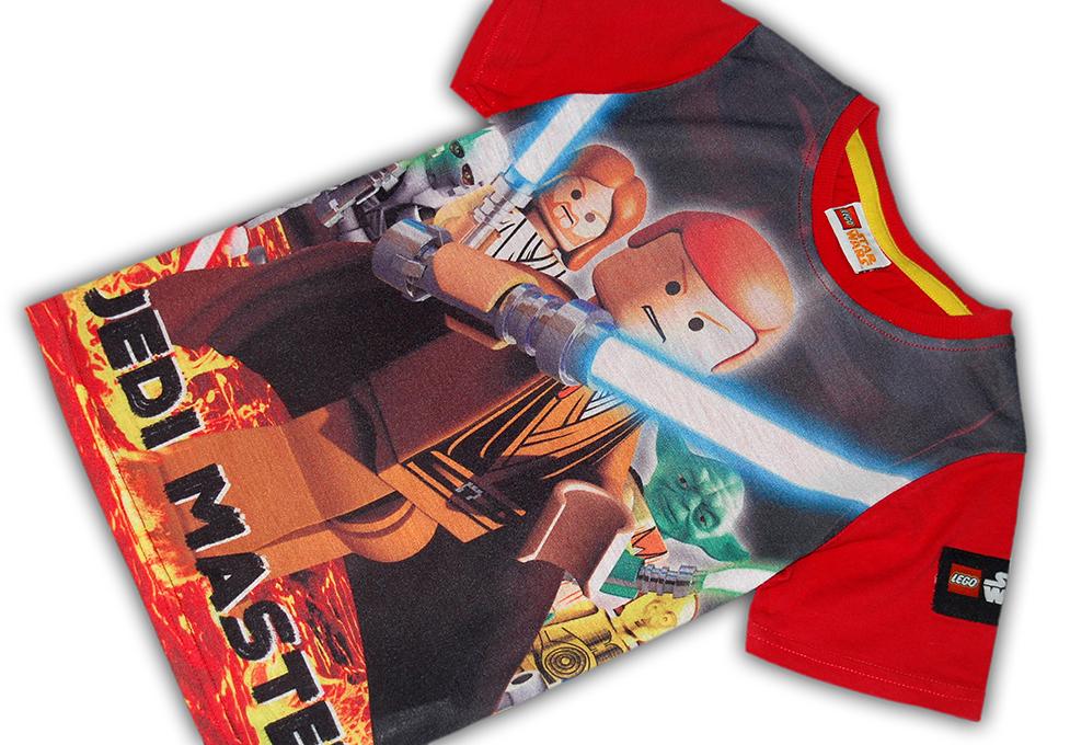 a56acd1046 LEGO STAR WARS   KOSZULKA print JEDI licencja  104 7642816156 ...