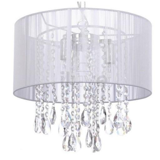 Lampa Wisząca żyrandol Kryształki Essence Italux