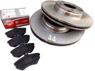 Тормозные диски Колодки Перед DO AUDI A4 B5 B6 VW PASSAT 280