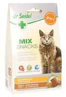 DR SEIDEL Smakołyki dla kotów MIX sierść + odkłacz