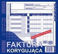 DRUK FAKTURA KORYGUJĄCA 2/3 A4 106-2E