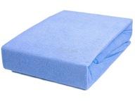 Prześcieradło na materac 180x90 - niebieskie