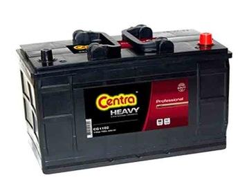 аккумулятор centra heavy 110ah 750a 110 ah cg1102 - фото