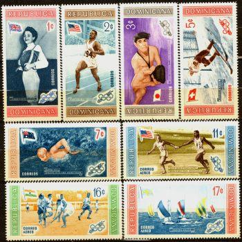 Доминиканская республика. Мне 660-667 ** - Олимпиада в Мельбурне доставка товаров из Польши и Allegro на русском