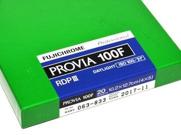 (Fuji Fujchrome Provia F 100 4x5 фильм слайд) доставка товаров из Польши и Allegro на русском