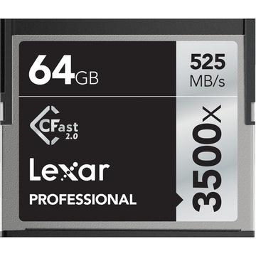 Lexar CFast 2.0 64GB 3500x 525MB/s доставка товаров из Польши и Allegro на русском