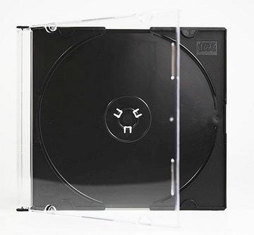 КОРОБКИ CD x1 SLIM ЧЕРНЫЕ 100шт. ВЕРСИЙ СОЮЗ доставка товаров из Польши и Allegro на русском