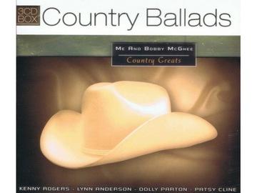 Country Ballads 3cd Меня И Бобби Макги доставка товаров из Польши и Allegro на русском