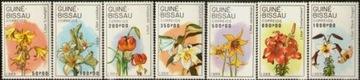 GWINEA-BISSAU. Mi 1049-55 ** - kwiaty доставка товаров из Польши и Allegro на русском