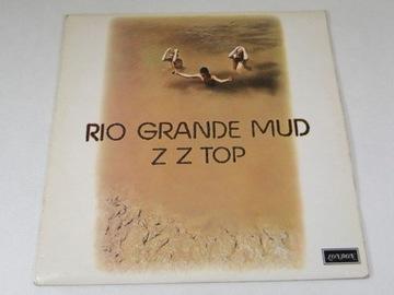 ZZ Top Rio Grande Mud LP UK NM 1st press 1Л доставка товаров из Польши и Allegro на русском