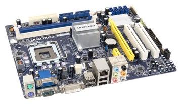 Материнская ПЛАТА FOXCONN G41MX s775 DDR2 PCIe MicroATX доставка товаров из Польши и Allegro на русском