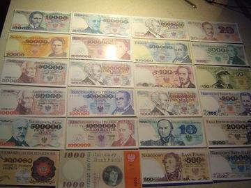 POLSKA zestaw 24 szt.banknotów z PRL-u доставка товаров из Польши и Allegro на русском