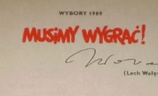 Выборы 1989 мы Должны выиграть! Предвыборная листовка доставка товаров из Польши и Allegro на русском