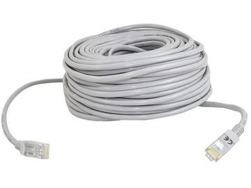 Кабель Сетевой Ethernet, Витая пара Gold RJ45 30м доставка товаров из Польши и Allegro на русском
