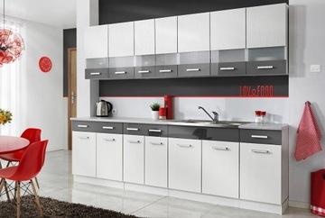 Кухонная мебель МАМБА БЕЛАЯ 2,6 - 3 ЦВЕТА доставка товаров из Польши и Allegro на русском