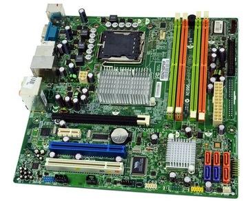 Материнская ПЛАТА MSI MS-7502 QUAD CORE2 DUO DDR2 775 с. доставка товаров из Польши и Allegro на русском