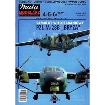 Маленький Модельер ММ 4-5-6/07 Самолет M-28B Bryza 1:33 доставка товаров из Польши и Allegro на русском