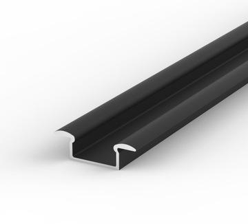 Выпускают Алюминиевый ПРОФИЛЬ LED+АБАЖУР 2м | Черный доставка товаров из Польши и Allegro на русском