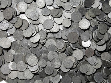 III Рейх МОНЕТЫ ЦИНКОВЫЕ 1-10 Pfennig - 10 штук доставка товаров из Польши и Allegro на русском