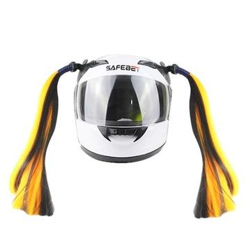 Кисточкой искусственные волосы на шлем для женщин мотоцикл доставка товаров из Польши и Allegro на русском