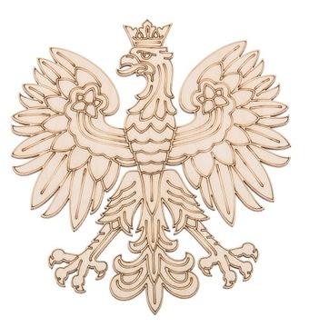 (ОРЕЛ орел маленький ГЕРБ фанера ДЕКУПАЖ ПОЛЬША) доставка товаров из Польши и Allegro на русском