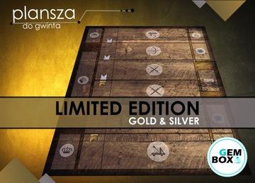 Доска для Карточной игры ВНЕШНЯЯ - имитирует стол -GOLD доставка товаров из Польши и Allegro на русском