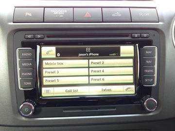 Телефон Bluetooth RNS510 RCD510 RNS315 установка VW доставка товаров из Польши и Allegro на русском