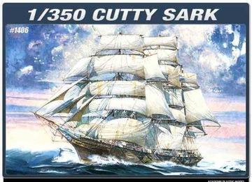 Clipper Cutty Sark, Academy 14110, масштаб 1:350 доставка товаров из Польши и Allegro на русском