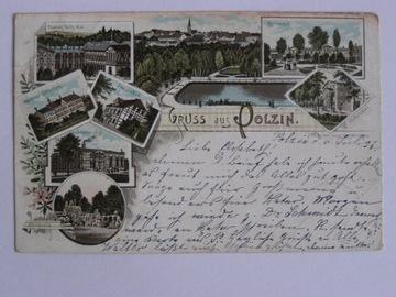 Połczyn Zdrój Polzin Świdwin lit. secesja 1897 доставка товаров из Польши и Allegro на русском