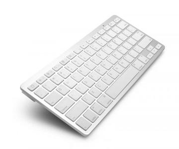 Беспроводная bluetooth клавиатура для iPad MacBook доставка товаров из Польши и Allegro на русском