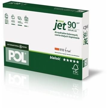 Бумага ксерокс для принтеров A4 Poljet 90г 250 листов доставка товаров из Польши и Allegro на русском