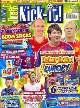 Just Kick it! № 4/2012. Новый экземпляр. доставка товаров из Польши и Allegro на русском