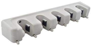 Кронштейн-Вешалка для Инструмента Швабр Mop x 5 + x 6 доставка товаров из Польши и Allegro на русском