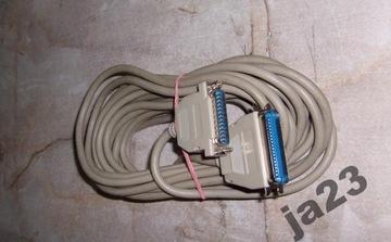 LPT DB25 CENTRONICS ДЛИННЫЙ кабель принтера 9 м FVAT доставка товаров из Польши и Allegro на русском
