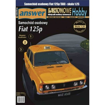 Ответ 2/16 - легковой Автомобиль Fiat 125p TAXI 1:25 доставка товаров из Польши и Allegro на русском