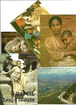 Zestaw - Nepal - kraj i ludzie / 9 pocztówek, kpl. доставка товаров из Польши и Allegro на русском