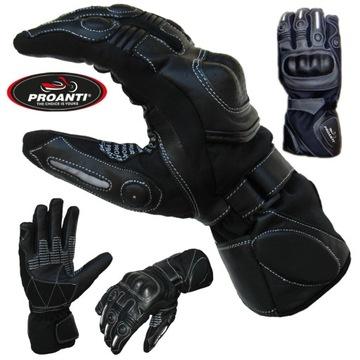 Rękawice PROANTI 745 przeciwdeszczowe skóra