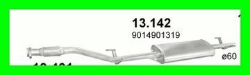 TLUMIK KONCOWY MERCEDES SPRINTER 13.142 BIALYSTOK