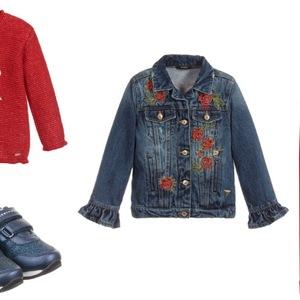 20e9ee9428 Jesienne stylizacje w kolorze czerwieni – trzy propozycje dla dziewczynki