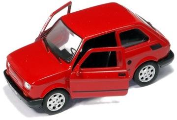 Kovový model Auto Fiat 126p Toddler Welly 1:32