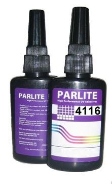 UV lepidlo Parlite 4116 Sklenené kovové plastové 50ml