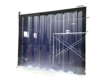 100x200cm Pripravené PVC Curtain Strip Bull Conctain