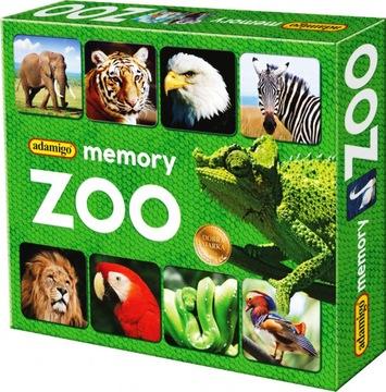 MEMORY ZOO MEMORY GAME ADAMIGO MEMO MEMORY