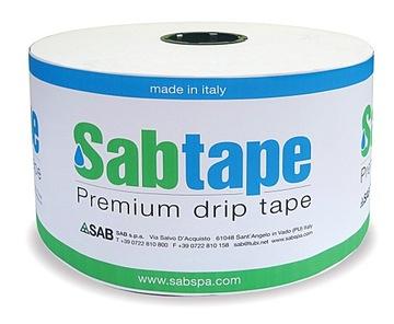 Odkvapkávacia páska SabTape 8mil, rozstup 10cm 2200m