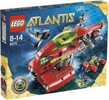 LEGO ATLANTIS 8075 DOPRAVA LODE NEPTUNE NOVINKA