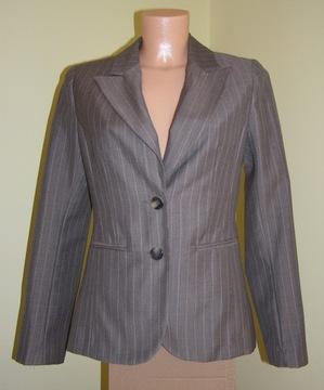 H&M Elegancki garnitur biznesowy spodnie 34 36